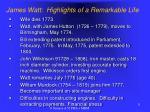 james watt highlights of a remarkable life5