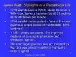 james watt highlights of a remarkable life7