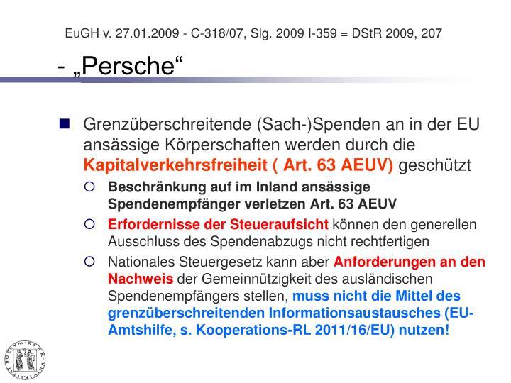 "- ""Persche"""