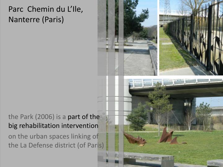 Parc  Chemin du L'Ile
