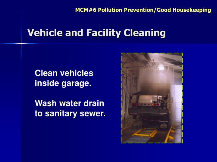 Vehicle and Facility Cleaning