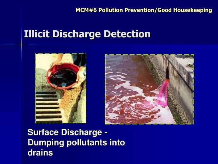 Illicit Discharge Detection