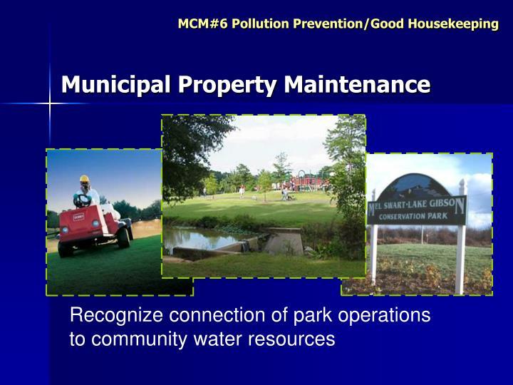 Municipal Property Maintenance