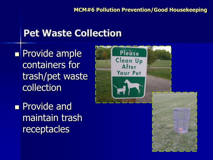 Pet Waste Collection