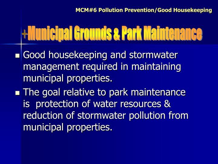 Municipal Grounds & Park Maintenance