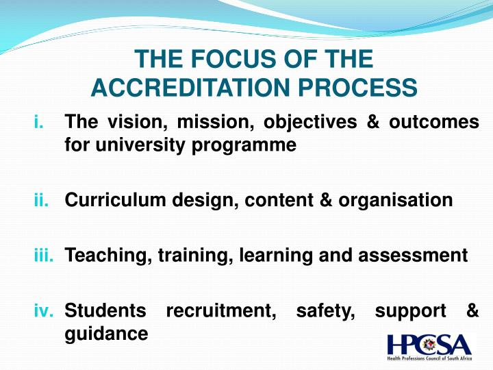 THE FOCUS OF THE