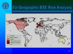 eu geographic bse risk analysis