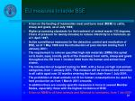 eu measures to tackle bse