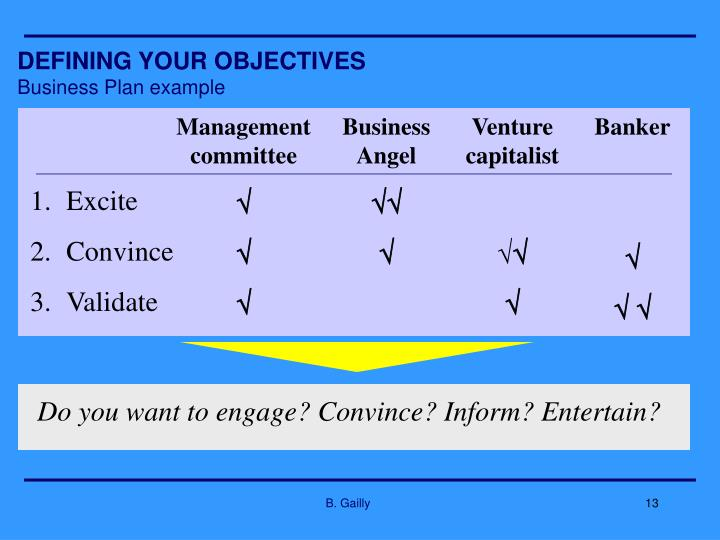 Do you want to engage? Convince? Inform? Entertain?
