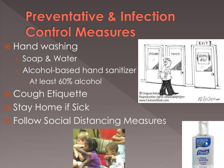 Preventative & Infection Control Measures