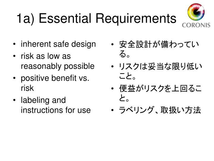 inherent safe design