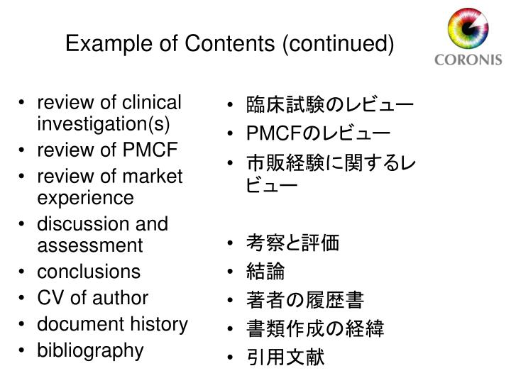 review of clinical investigation(s)