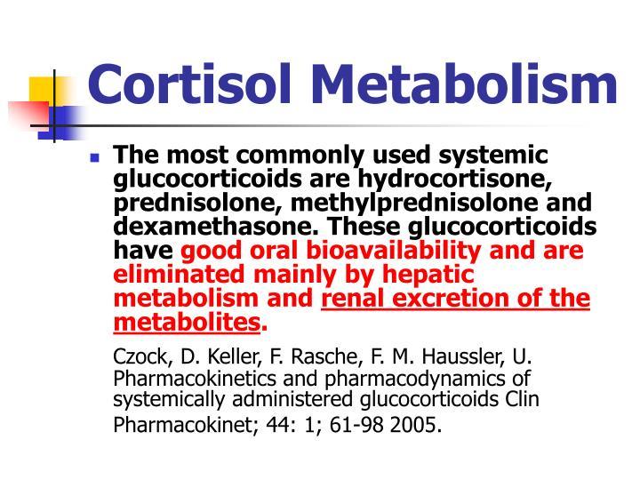 Cortisol Metabolism