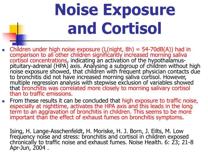 Noise Exposure
