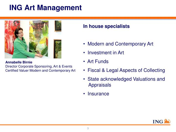 Ing art management
