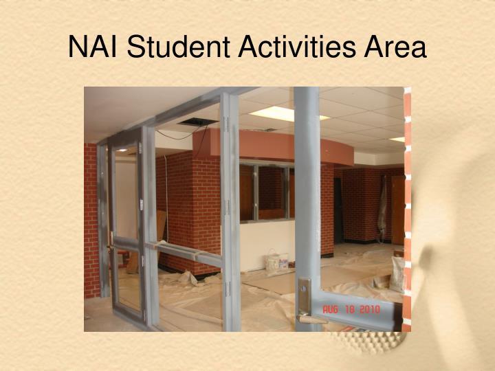 NAI Student Activities Area