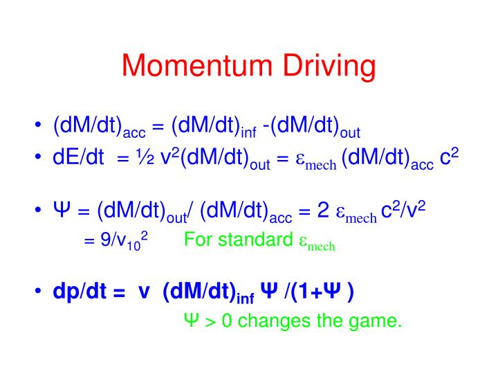 Momentum Driving