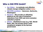 who is 500 ppm gmbh
