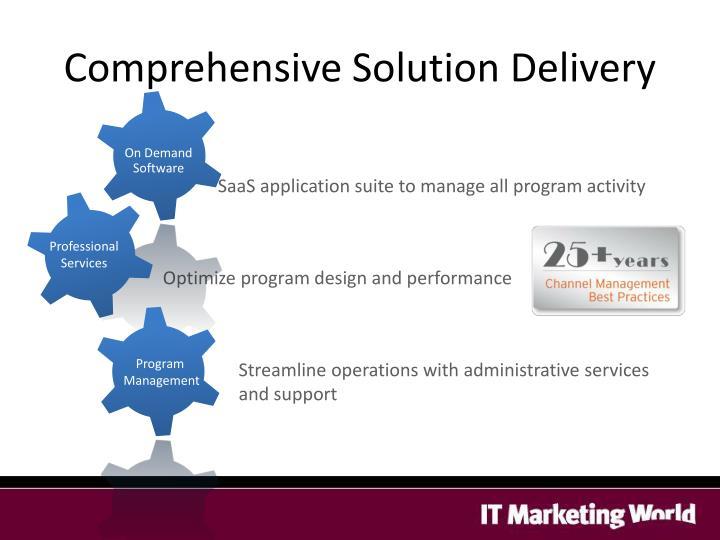 Comprehensive Solution Delivery