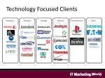 technology focused clients