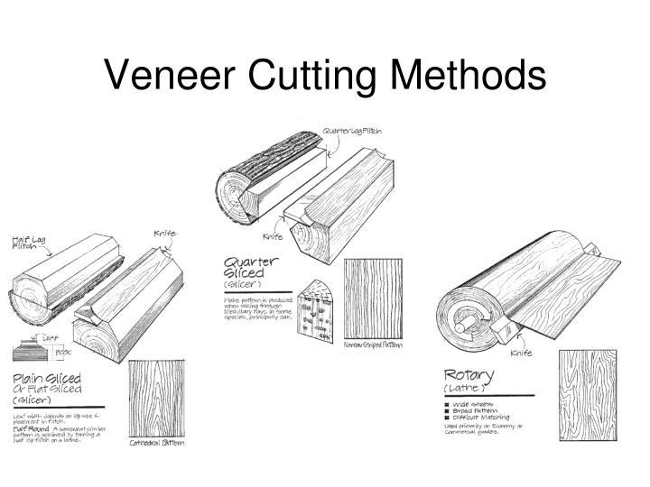 Veneer Cutting Methods