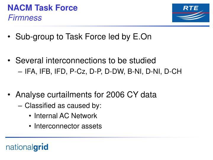 NACM Task Force