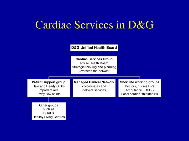 Cardiac Services in D&G