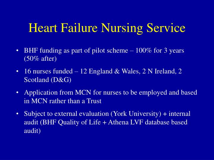 Heart Failure Nursing Service