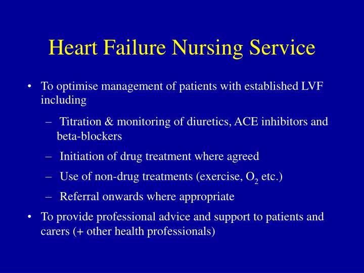 Heart Failure Nursing Service