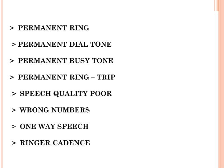 >  PERMANENT RING