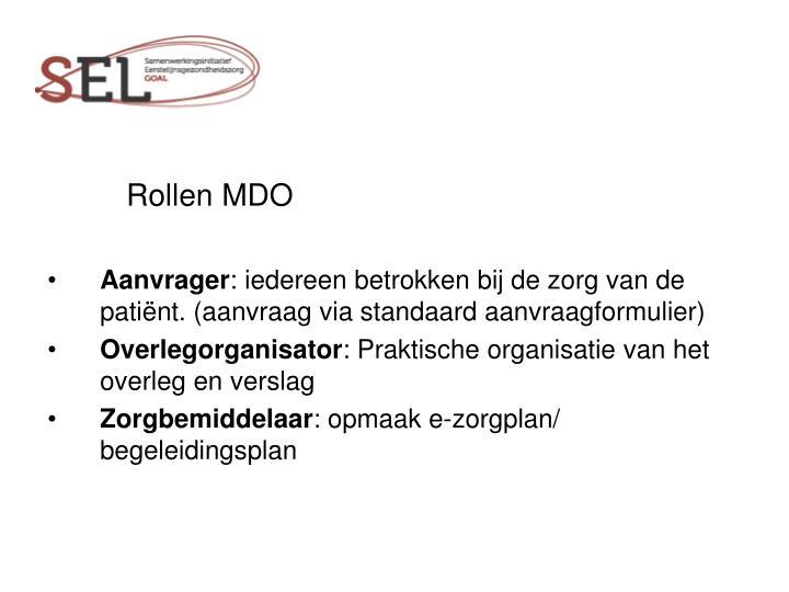 Rollen MDO
