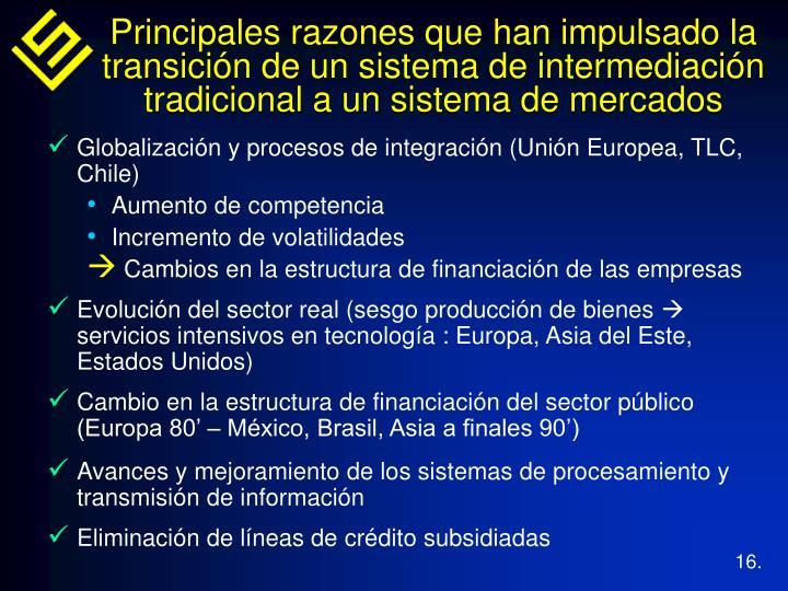 Globalización y procesos de integración (Unión Europea, TLC, Chile)