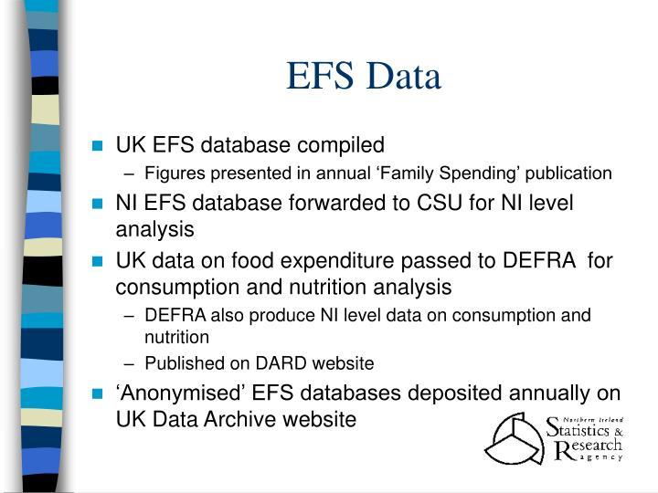 EFS Data