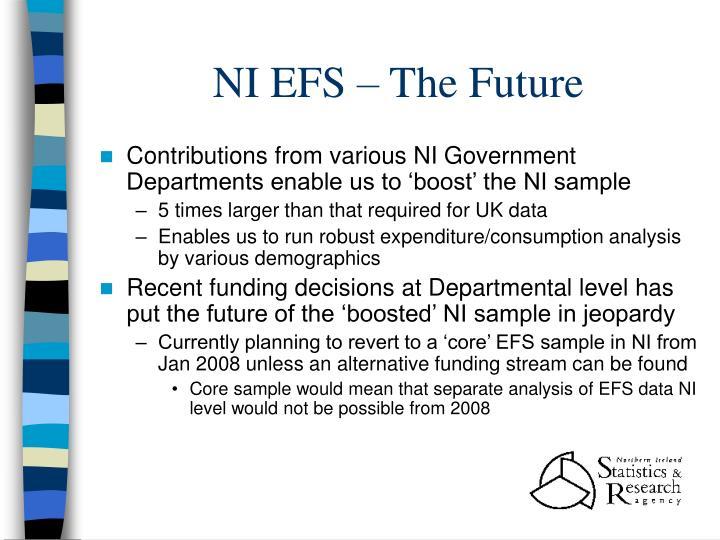 NI EFS – The Future
