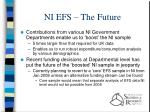 ni efs the future