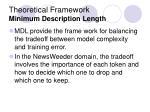 theoretical framework minimum description length1
