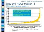 why the mdgs matter ii ill health causes poverty1