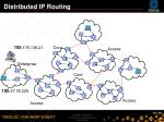 distributed ip routing