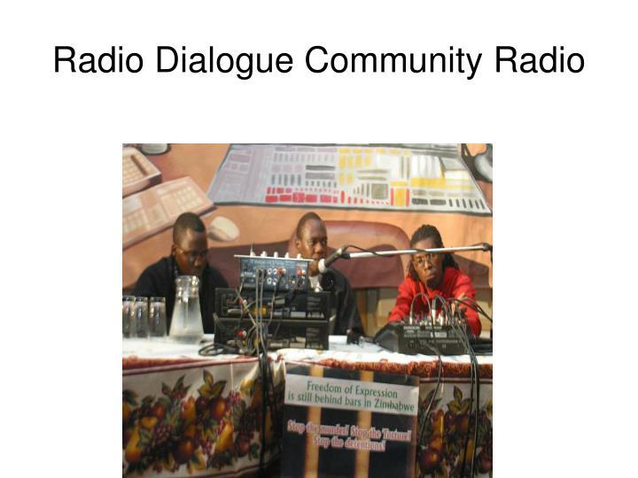 Radio Dialogue Community Radio