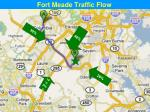 fort meade traffic flow about 70 of fggm traffic arrives on md295s and md32e