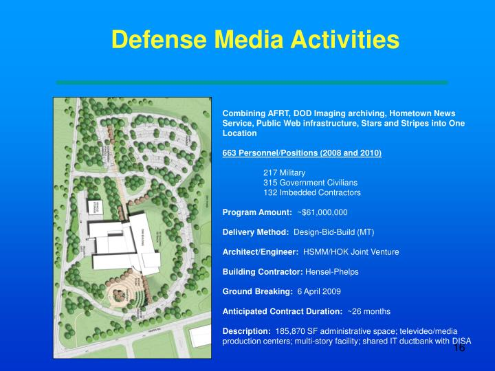 Defense Media Activities