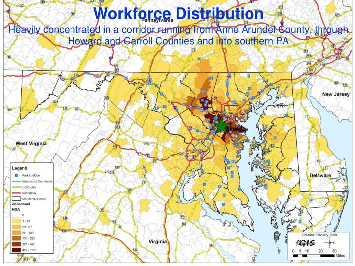 Workforce Distribution