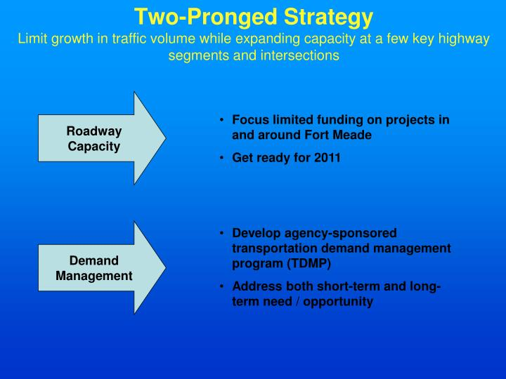Two-Pronged Strategy