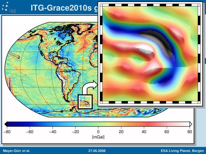 ITG-Grace2010s gravity anomalies