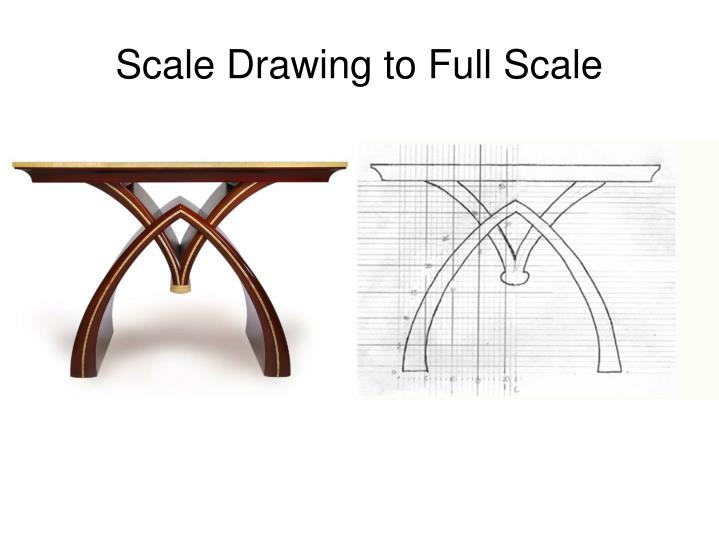 Scale Drawing to Full Scale