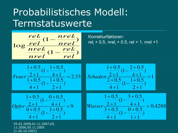 Probabilistisches Modell:
