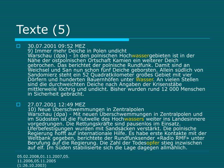 Texte (5)