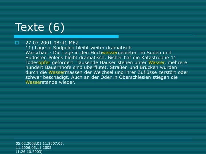 Texte (6)