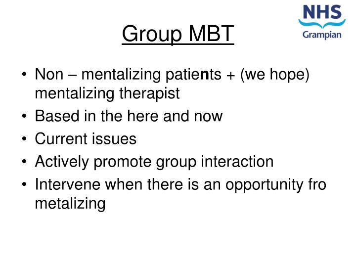 Group MBT