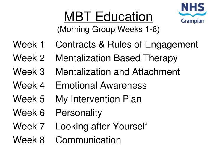 MBT Education